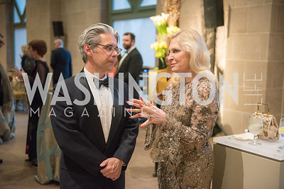 Chase Robinson, Susan Pillsbury, Freer Sackler, Gallery of Art, Empresses of China, March 27, 2019. Photo by Ben Droz.