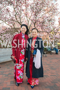 Laurie Ying, Willow Weilan Hai, Freer Sackler, Gallery of Art, Empresses of China, March 27, 2019. Photo by Ben Droz.