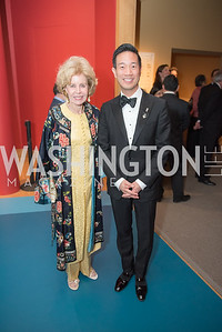 Ann Nitze, Tai-Heng Cheng, Freer Sackler, Gallery of Art, Empresses of China, March 27, 2019. Photo by Ben Droz.