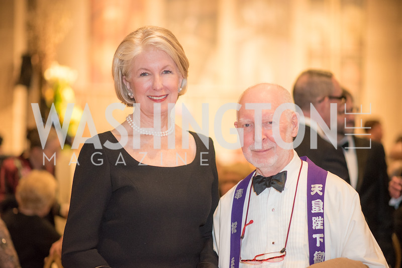 Pamela Smith, Robin Berrington,  Freer Sackler, Gallery of Art, Empresses of China, March 27, 2019. Photo by Ben Droz.