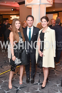 Nolan Wein, Michael Greenwald, Samantha Dean, United States Holocaust Memorial Museum, National Tribute Dinner, April 29, 2019, photo by Ben Droz.