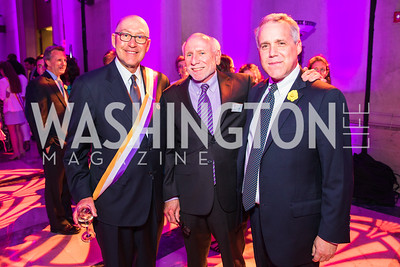 David Jacobson, Steve Jenkins, Matt Banks. Photo by Alfredo Flores. Rightfully Hers American Women and the Vote opening reception. National Archives. May 8, 2019