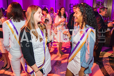 Emily Charlip, Meghana Doddapaneni. Photo by Alfredo Flores. Rightfully Hers American Women and the Vote opening reception. National Archives. May 8, 2019