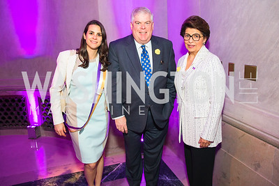 Kelsey Kats, Kevin  Donnellan , Treasurer of the United States Jovita Carranza . Photo by Alfredo Flores. Rightfully Hers American Women and the Vote opening reception. National Archives. May 8, 2019