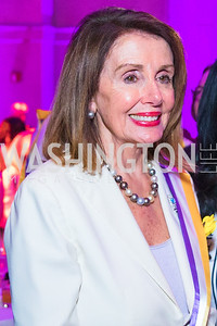Congresswoman Nancy Pelosi , . Photo by Alfredo Flores. Rightfully Hers American Women and the Vote opening reception. National Archives. May 8, 2019