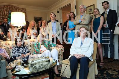Photo by Tony Powell. Reception for Bill Weld. Tobin Residence. June 18, 2019