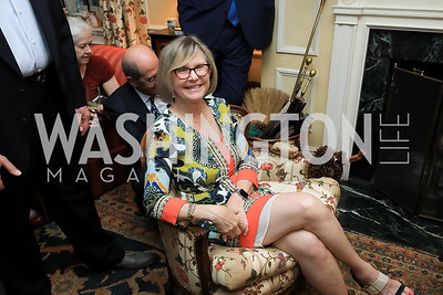 Connie Carter. Photo by Tony Powell. Reception for Bill Weld. Tobin Residence. June 18, 2019