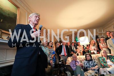 Gov. Bill Weld. Photo by Tony Powell. Reception for Bill Weld. Tobin Residence. June 18, 2019