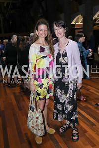 Kristina Windom, DeDe Byrne. Photo by Tony Powell. Julie Kent's 50th Birthday. Embassy of New Zealand. September 28, 2019