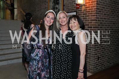 Sara Lange, Jane Cafritz, Janie Kim. Photo by Tony Powell. Julie Kent's 50th Birthday. Embassy of New Zealand. September 28, 2019