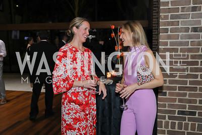 Brae Blackley, Michelle Kosinski. Photo by Tony Powell. Julie Kent's 50th Birthday. Embassy of New Zealand. September 28, 2019