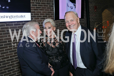 Jim Gale, Rosemarie Bogley, Bob Heggestad. Photo by Tony Powell. Julie Kent's 50th Birthday. Embassy of New Zealand. September 28, 2019