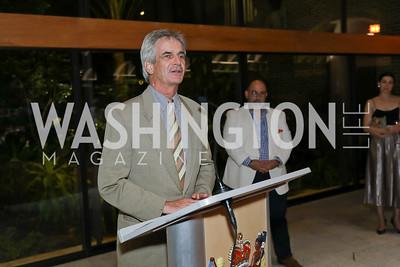 Kevin MacKenzie. Photo by Tony Powell. Julie Kent's 50th Birthday. Embassy of New Zealand. September 28, 2019