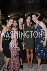 Victoria Arrea,Jessy Dick, Samara Rittinger, Brittany Stone, Olivia Lipnick. Photo by Tony Powell. Julie Kent's 50th Birthday. Embassy of New Zealand. September 28, 2019