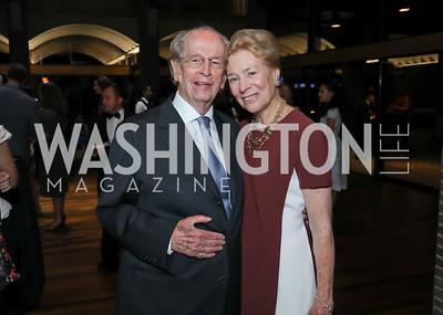 Bill and Dorothy McSweeny. Photo by Tony Powell. Julie Kent's 50th Birthday. Embassy of New Zealand. September 28, 2019