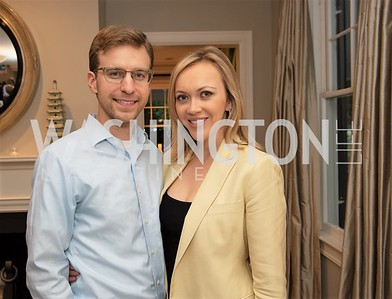 Jason and Paula Reid. Photo by Yasmin Holman. Kim Wehle Book Event. Chevy Chase. 09.14.19