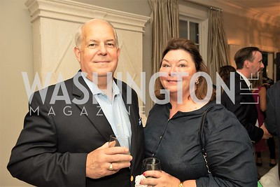 Richard and Elizabeth Tonner. Photo by Yasmin Holman. Kim Wehle Book Event. Chevy Chase. 09.14.19