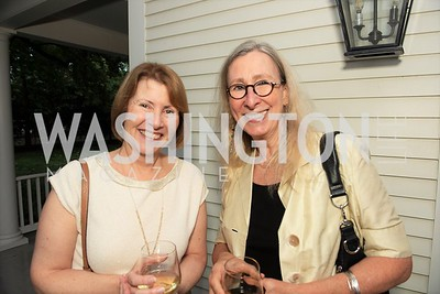 Pam Fessler, MT Connolly. Photo by Yasmin Holman. Kim Wehle Book Event. Chevy Chase. 09.14.19