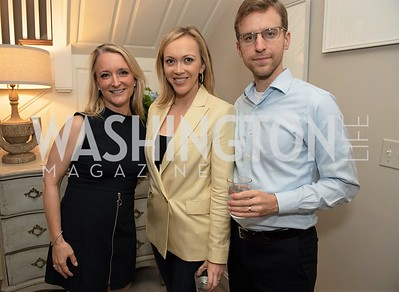 Kim Wehle, Paula and Jason Reid. Photo by Yasmin Holman. Kim Wehle Book Event. Chevy Chase. 09.14.19