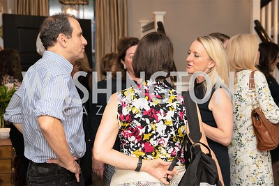 Kim Wehle with guests. Photo by Yasmin Holman. Kim Wehle Book Event. Chevy Chase. 09.14.19