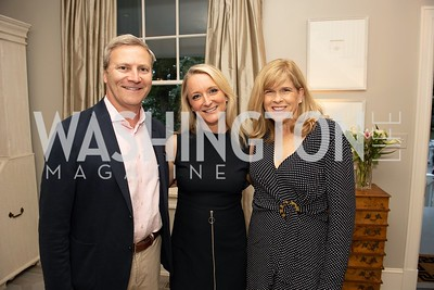 Greg Brower, Kim Wehle, Loren Brower. Photo by Yasmin Holman. Kim Wehle Book Event. Chevy Chase. 09.14.19
