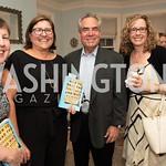 Liz Keyes, Margaret Johnson, Ron Welch, Michele Gilman. Photo by Yasmin Holman. Kim Wehle Book Event. Chevy Chase. 09.14.19