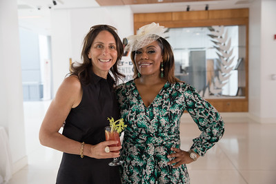 Nicole Elkon, Dr. kristy Arnold. photo by Bruce Allen. LIFT Jazz Brunch