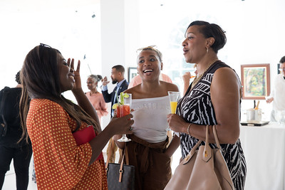 Xiomara, Courtney, Veronica. photo by Bruce Allen. LIFT Jazz Brunch