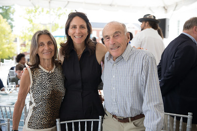 Nicole Elkon with Mom And Dad. photo by Bruce Allen. LIFT Jazz Brunch