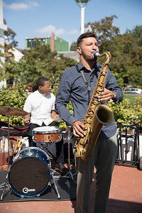Elijah Balbed. photo by Bruce Allen. LIFT Jazz Brunch