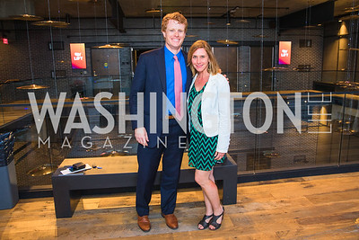 Rep. Joe Kennedy III , Dara Klatt.  Photo by Alfredo Flores.  LIFT's 20th Anniversary. The Anthem. National Archives. May 26, 2019