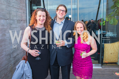 Anna Stern, Zach Carroll, Lauen Fox. Photo by Alfredo Flores.  LIFT's 20th Anniversary. The Anthem. National Archives. May 26, 2019