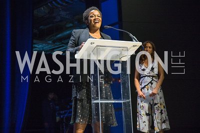 Michelle Rhone-Collins, Gina Coburn. Photo by Alfredo Flores.  LIFT's 20th Anniversary. The Anthem. National Archives. May 26, 2019