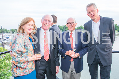 Susan Christman , Daniel Christman , Steve Smith , Andrew Moravcsik. Photo by Alfredo Flores.  LIFT's 20th Anniversary. The Anthem. National Archives. May 26, 2019