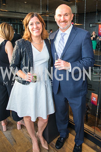 Lisa Shapiro, Hal Shapiro. Photo by Alfredo Flores.  LIFT's 20th Anniversary. The Anthem. National Archives. May 26, 2019