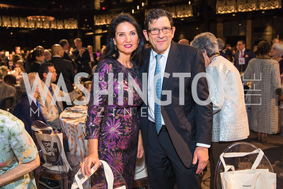 Georgia  Mouzakis, Charles Marinoff  . Photo by Alfredo Flores.  LIFT's 20th Anniversary. The Anthem. National Archives. May 26, 2019