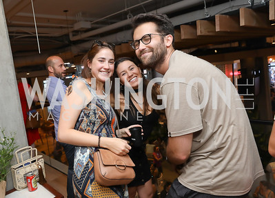Anabella Rodriguez, Daniella Torrealba, Marshall Schraibman. Photo by Tony Powell. La Cosecha Grand Opening. September 7, 2019