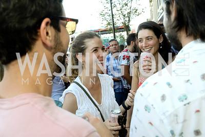 Mariana Becerra, Chloe Hans Barrientos. Photo by Tony Powell. La Cosecha Grand Opening. September 7, 2019