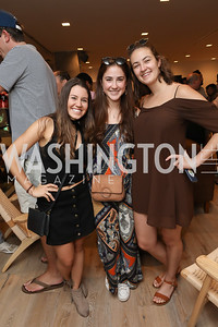 Daniella Torrealba, Annabella Rodriguez, Erika Parjus. Photo by Tony Powell. La Cosecha Grand Opening. September 7, 2019