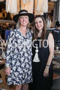 Jody McLean, Carolina Furukrona. Photo by Tony Powell. La Cosecha Grand Opening. September 7, 2019