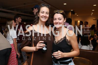 Erika Parjus, Genevieve Jesse. Photo by Tony Powell. La Cosecha Grand Opening. September 7, 2019
