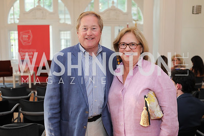 "Gov. Jim Blanchard and Janet Blanchard. Photo by Tony Powell. ""Lost & Found in Spain"" Book Party. May 28, 2019"