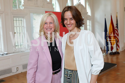 """Susan Blumenthal, Maria Molina. Photo by Tony Powell. """"Lost & Found in Spain"""" Book Party. May 28, 2019"""
