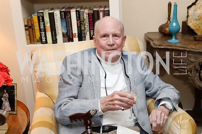 "Jonathan Yardley. Photo by Tony Powell. Marie Arana ""Silver, Sword and Stone"" Book Party. Roosevelt Residence. September 18, 2019"