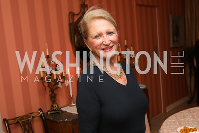 "Maggie Shannon. Photo by Tony Powell. Marie Arana ""Silver, Sword and Stone"" Book Party. Roosevelt Residence. September 18, 2019"