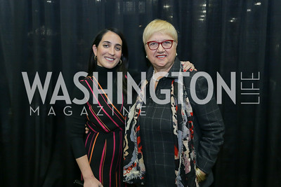 Catherine Trifiletti, Lidia Bastianich. Photo by Tony Powell. MetroCooking DC. Convention Center. November 16, 2019