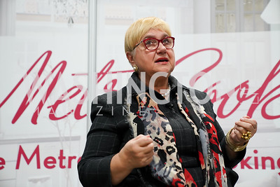 Lidia Bastianich. Photo by Tony Powell. MetroCooking DC. Convention Center. November 16, 2019