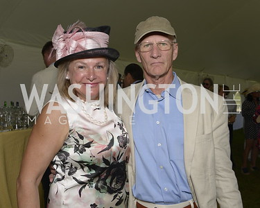 Mary Ewing and Sam Mitchell,  NSLM 2019 Polo Classic Great Meadow Sep 15 2019 Photo by Nancy Milburn Kleck