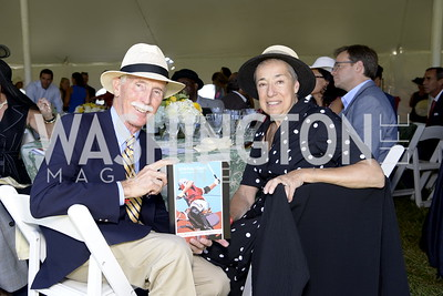 Greg and Kathleen Montgomery,  NSLM 2019 Polo Classic Great Meadow Sep 15 2019 Photo by Nancy Milburn Kleck