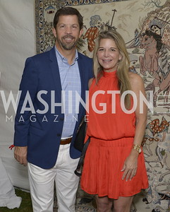 Chris Holder and Elizabeth Mandross,  NSLM 2019 Polo Classic Great Meadow Sep 15 2019 Photo by Nancy Milburn Kleck